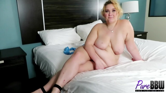 BTS Interview with Amateur BBW Blondie Sloane