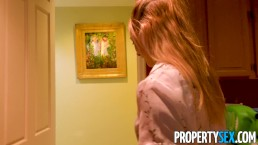 PropertySex - Client bangs cute real estate agent after making offer
