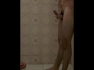 Hidden Camera - Masturbation Man on the Bath