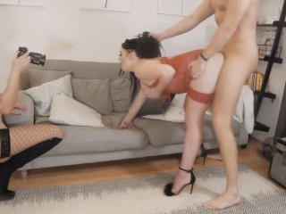 I Gave My Husband REAL British Escort as a BDAY Gift and Film It.