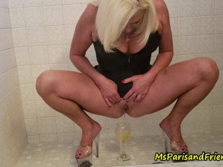 Ms Paris Pees in Everything She Can Find