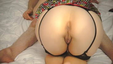 SEXY PUSSY EDGING & REAL ORGASM DENIAL: Perfect Ass Teasing BJ Climax
