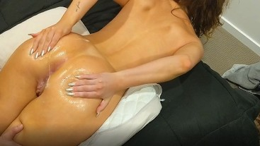 He cums twice after fingering my tight pussy and fucked me hard