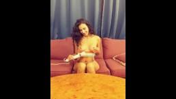BehindTheScene with Angelica Cruz lactating