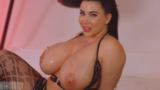 JOI with #lubelife flavoured lube ass tasting KORINA KOVA