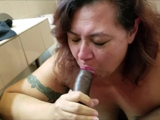 Granny give blow job to BBC