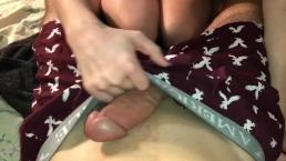 College gf sucking my dick