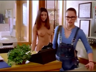 ENF- Woman is the only One Naked at School- Humilated