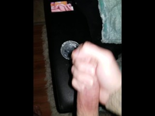 I masturbate  on a xxx video video while my GF rests