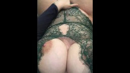 Milf fingers pussy