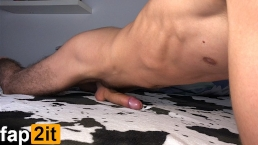 Guy Moaning While Humping Bed – Cum Handsfree – 4K