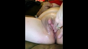 Oiled Up Big Clit and Talking Dirty
