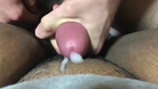 ASMR: Wet Pussy Job and Cumshot