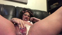 Sexiest MILF Solo ever! Eva Nixon fists for the 1st time while pregnant!