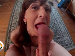 Petite Milf Marie Swallows Every Drop Of Shadow's Cum (REAL COUPLE)