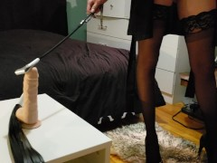 Slave POV femdom ,  humiliate , spit on , slap and more