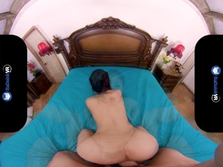 BaDoinkVR.com Big Titted Asian Teen Jade Kush Is Horny This Morning