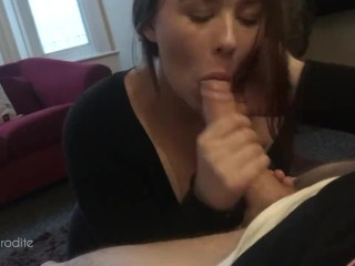POV BlowJob and Cum in my Mouth