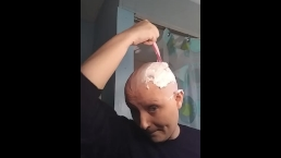 Razor bald headshave