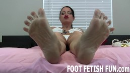 Sexy Girl Feet And Foot Fetish Fantasy Porn