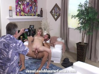 Videos Bb06 Nude Australia Fucking, bts of Jillian Janson and Chad White fucking with creampie photo