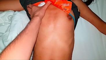 First deep cum inside - Thai Teen Hardcore - creampie pussy multiple times