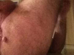 Sammy Austin Bad Dragon dildo anal creampie .