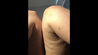 Chunky girls first time filming herself