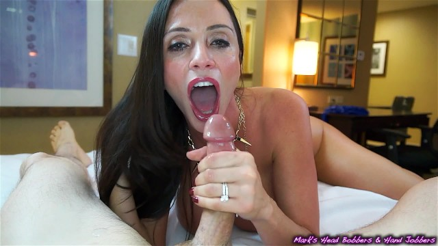New step-mother sucks off horny son