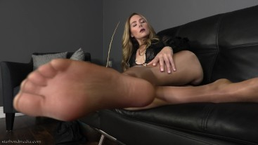 Kneeling At My Feet - a nylon asmr experience - Star Nine FULL VIDEO