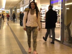 Anal at the shopping mall