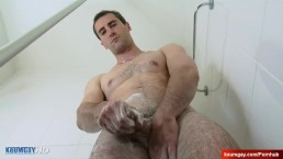 Handsome hetero ( str8 ) neighbour in a gay porn in spite of him.
