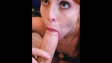 HOT redhead Instagram TEEN SUCKING COCK AFTER GYM!