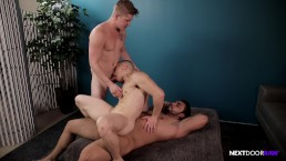 NextDoorRaw Muscle Amateur Roommates Bareback Group Sex Time!!