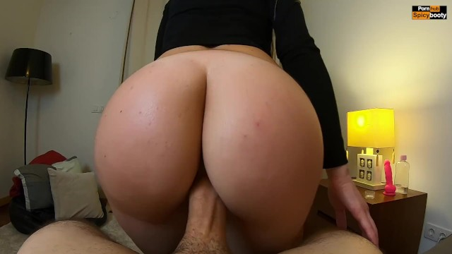 Latina Ass Reverse Cowgirl