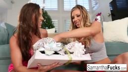 Abigail Mac ja Samantha Saint