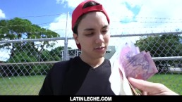 LatinLeche - Virgin Latino Gets His Asshole Pounded By A Horny Cameraman