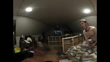 College Twink VR 360 - [Flint-Wolf.com]