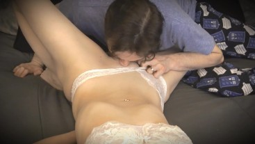 PUSSY EDGING & TEASING my BLINDFOLDED WIFE until she has a TREMBLING ORGASM