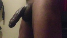 Big black dick Cumshout