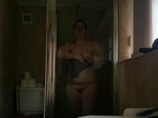 Teen in shower – MrBigandMrsSmall