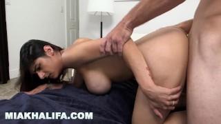 MIA KHALIFA - Arab Babe Passionately Fucked By Big Dick Stud, Sean Lawless porno