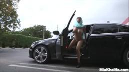 MIA KHALIFA - Busty Arab Pornstar Trains Her Muslim Friend How To Suck Cock
