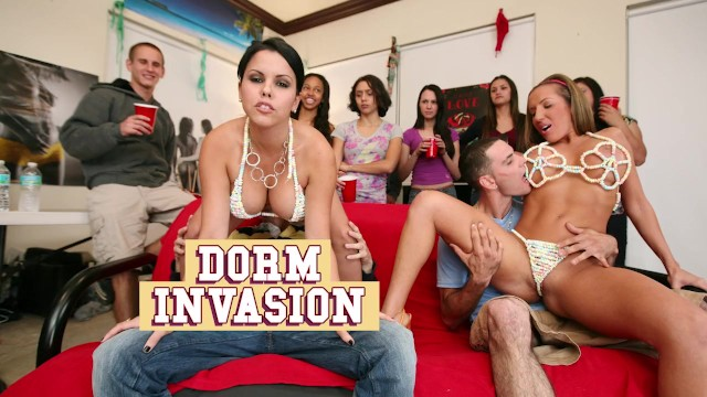 BANGBROS – College Dorm Gets Invaded By Diamond Kitty, Nikki Sexx, etc.