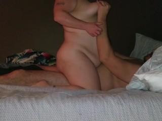 Sexy BBW Rides Dick