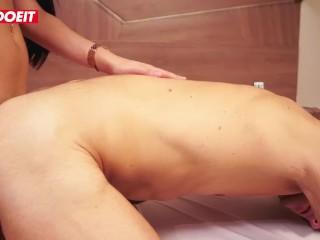 LETSDOEIT – Horny Stud Gets a Tranny Surprise at Massage Parlor