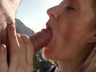 White Booty Milf Fucked Suck Him In The Mountains,End Up Wishing For More.Never Get Enough