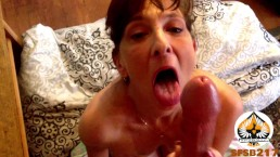 Milf Blowjob Oral Creampie Post Cum Suck Compilation (Real Couple)