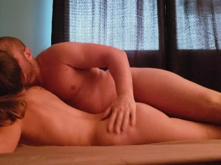 GIRLFRIEND wake up by Boyfriend and fuck til he cumshot, PRIVATE VIDEO
