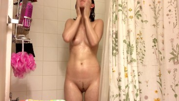 taking a hot shower - Ally Blake